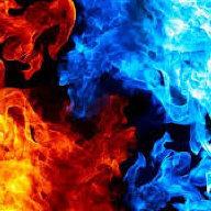 black n green fire